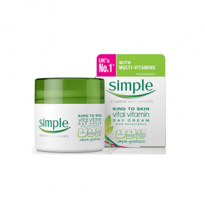 Kem Dưỡng Da Simple Kind To Skin Vital Vitamin Cream Day 50ml