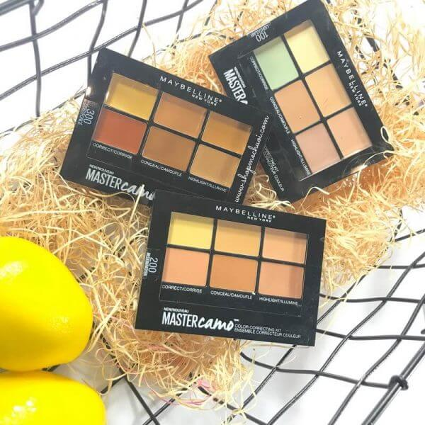 Bảng Che Khuyết Điểm Maybelline Face Studio Master Camo Color