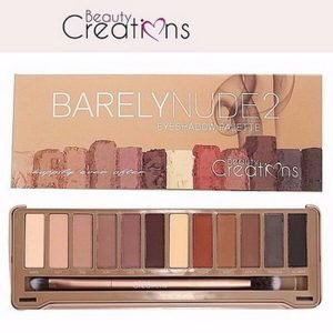 Bảng Phấn Mắt Beauty Creations Barely Nude 2 Eyeshadow Palette