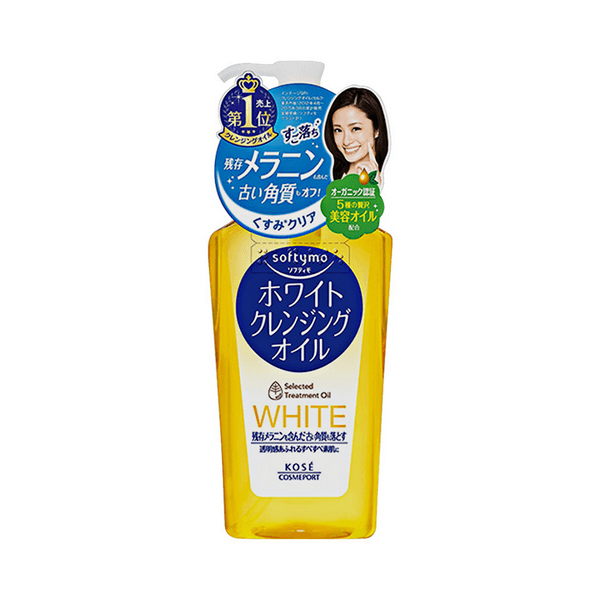 Dầu tẩy trang Kose Softymo White Cleasing Oil 230ml