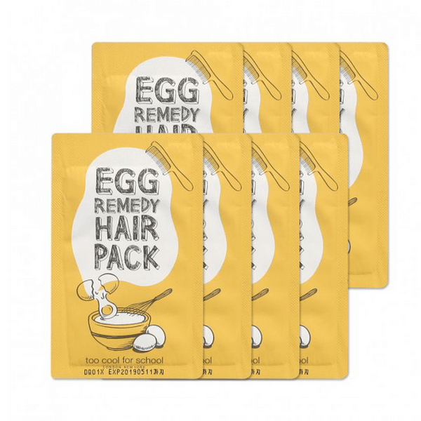 Ủ Tóc Trứng Gà Sample Too Cool For School Egg Remedy Hair Pack 10g