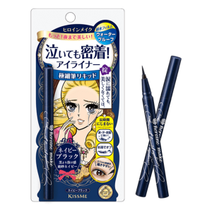 Kẻ Mắt Isehan Kiss Me Heroine Make Smooth Liquid Eyeliner Navy Black 6ml