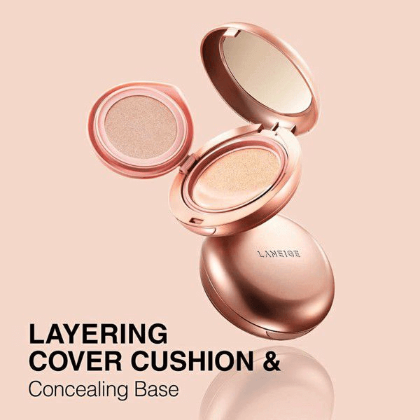 Kem Phấn Nền Laneige Layering Cover Cushion And Concealing Base